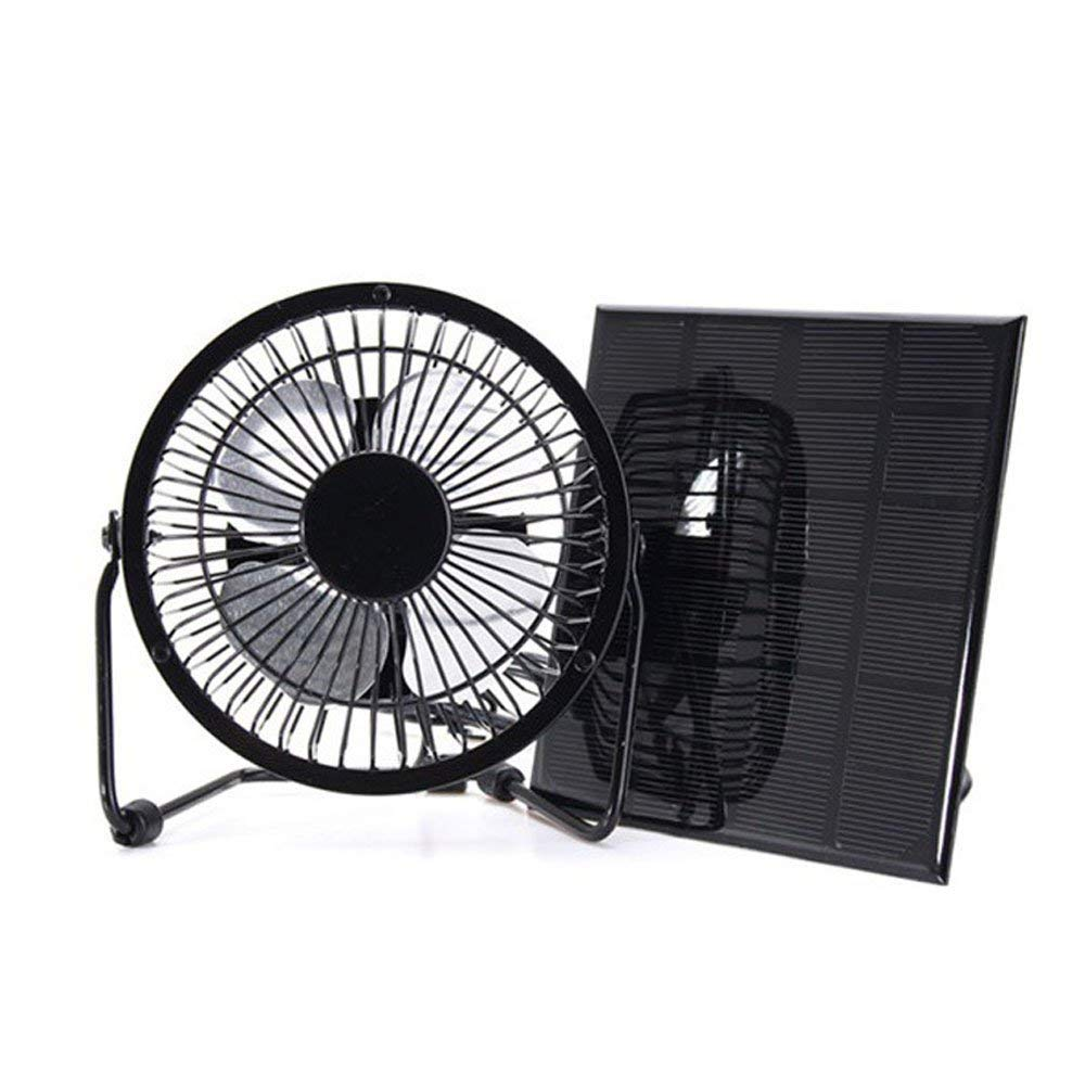 Solar Powered Fan 8inch Free Energy Power Ventilator for Greenhouse Motorhome House Chicken House Outdoor Home Cooling RV Car Gazebo Ventilation System