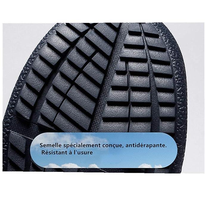 Dannto Chaussures deau Hommes Femmes Chaussons de Sport Aquatique Respirants S/échage Rapide pour Natation Plong/ée Yoga pour Unisexe