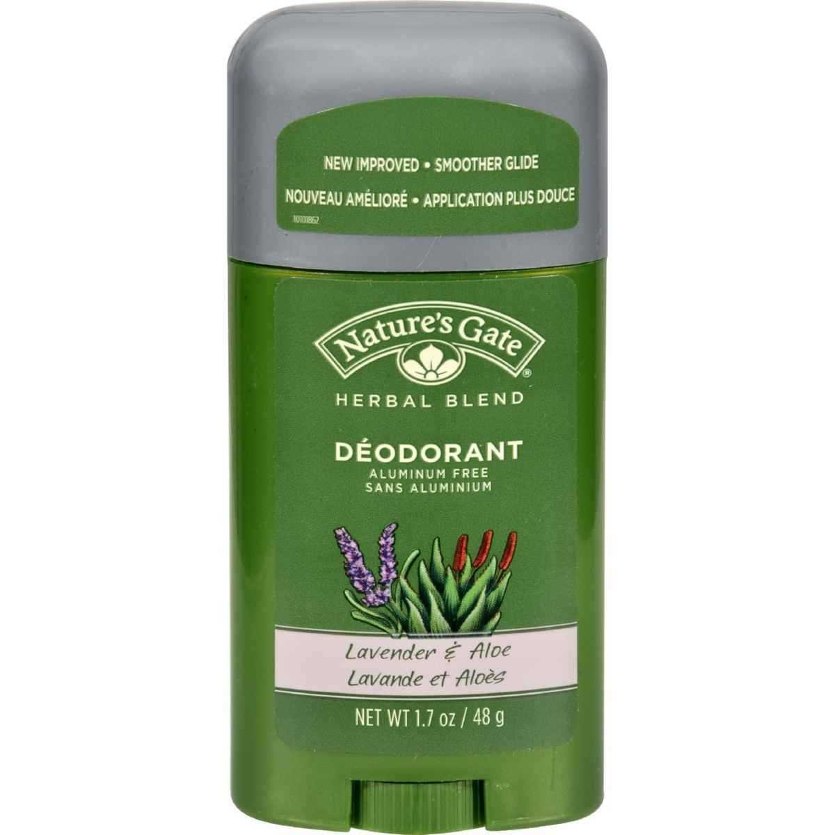 Nature S Gate Herbal Blend Lavender And Aloe Deodorant