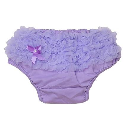 Niña De La Colmena De La Cubierta Bragas Calzones Pañal S Luz Púrpura