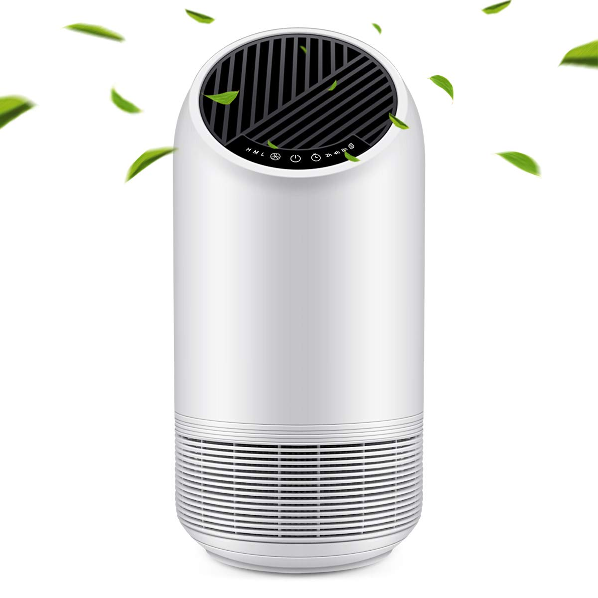 Air Purifier, Home Office Air Cleaner with True HEPA Filter for Allergies and Pets, Smokers, Pollen, Mold, Quiet Odor Eliminator