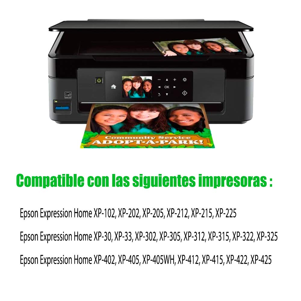 GLEGLE 18XL Compatible tinta cartuchos 10 Reemplazo para Epson ...