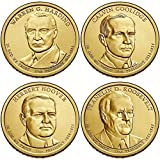 2014 Presidential Dollar 8-Coin Uncirculated Set P and D Singles