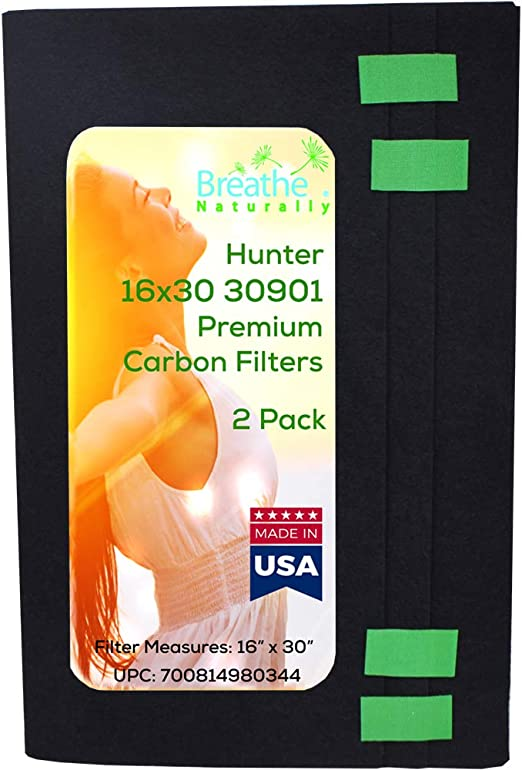 "HUNTER 30901 Carbon Pre filter replacement 16/""x30/"""