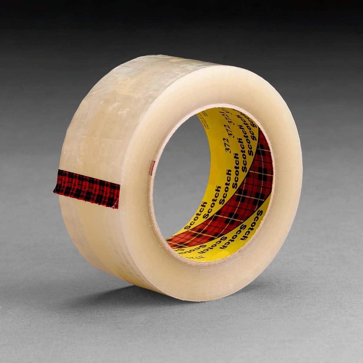 3M Scotch Box Sealing Tape 371 Clear 48 Mm X 914 M 1 Roll