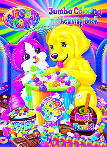 Lisa Frank Jumbo Coloring & Activity Book - Best Buds