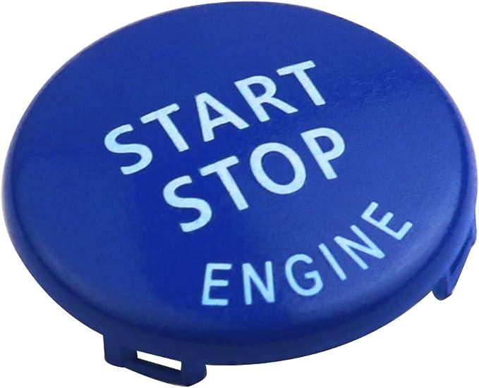 Maxiou Bouton darr/êt de d/émarrage pour ch/âssis E 1 3 X6 X3 interrupteur de moteur de remplacement dallumage X5 s/éries X1 5 bouton darr/êt de d/émarrage 6