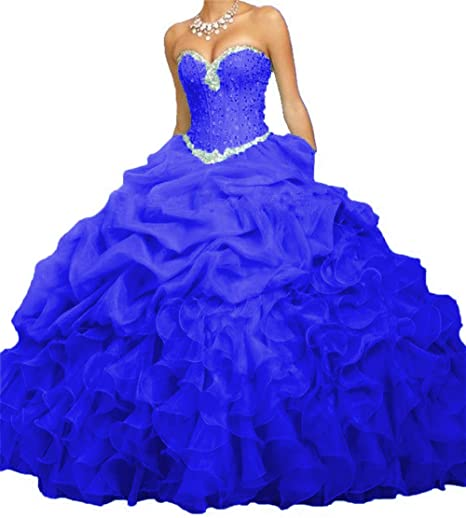 Review BanZhang Women's Quinceanera Dresses Prom Dress Beaded Cheap Ball Gown Jacket B314