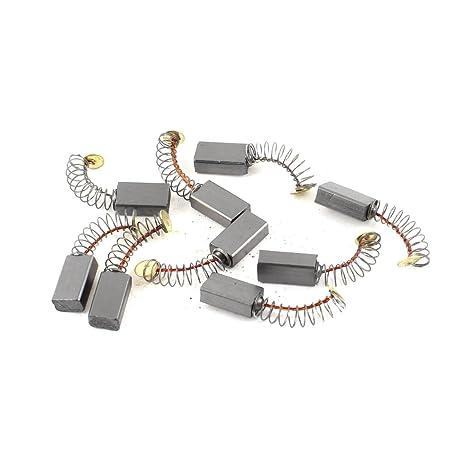 9Pcs 14mm x 8mm x 5mm Motor Eléctrico Escobillas De Carbono