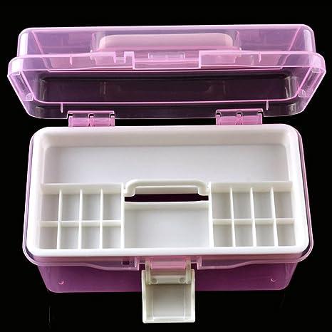 PUAK523 - Caja organizadora de herramientas de plástico con mango ...