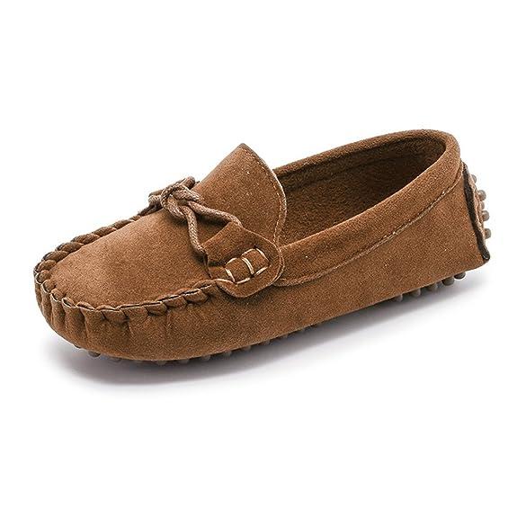 Sunny&Baby Mocasines al Aire Libre para Niños de Little Kids Causal Zapatos para Niños Pequeños Resistente a la Abrasión: Amazon.es: Zapatos y complementos