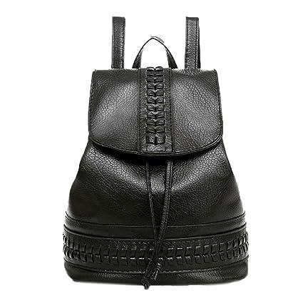 Bolso, Manadlian Mochila de viaje Mujer Mochila Ocio Estudiante Schoolbag Bolsa suave (27cm(