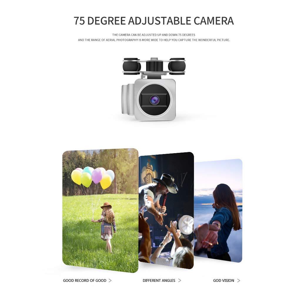 MOZATE HJ18W 2.4Ghz FPV WiFi 1080P HD Camera Remote Control RC Quadcopte Selfie Drone (White) by MOZATE (Image #5)