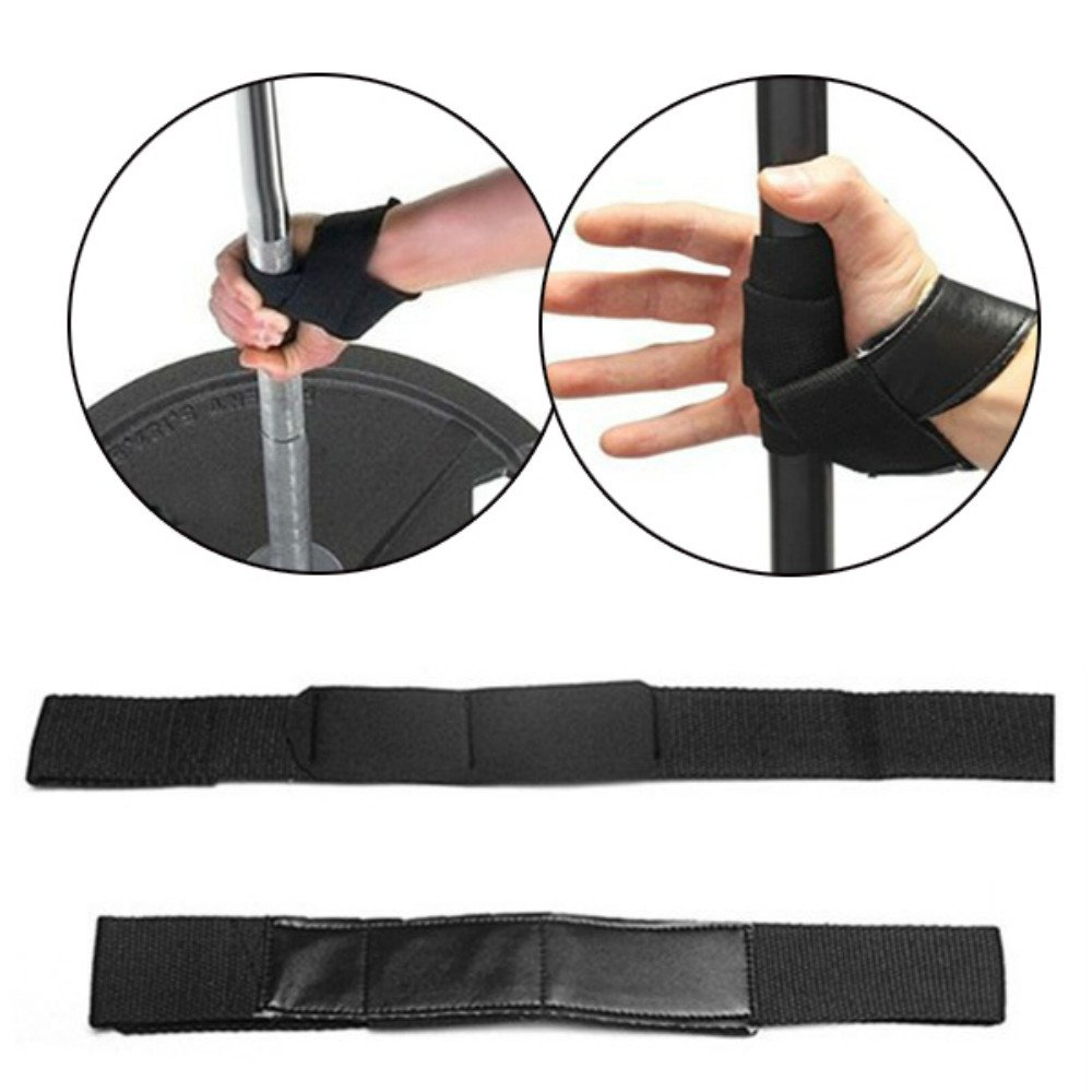 Gym Straps Hand Bar Wrist, Vinamx Gym Power Training Weight Lifting Bar Straps Hand Wraps Wrist Support Protection