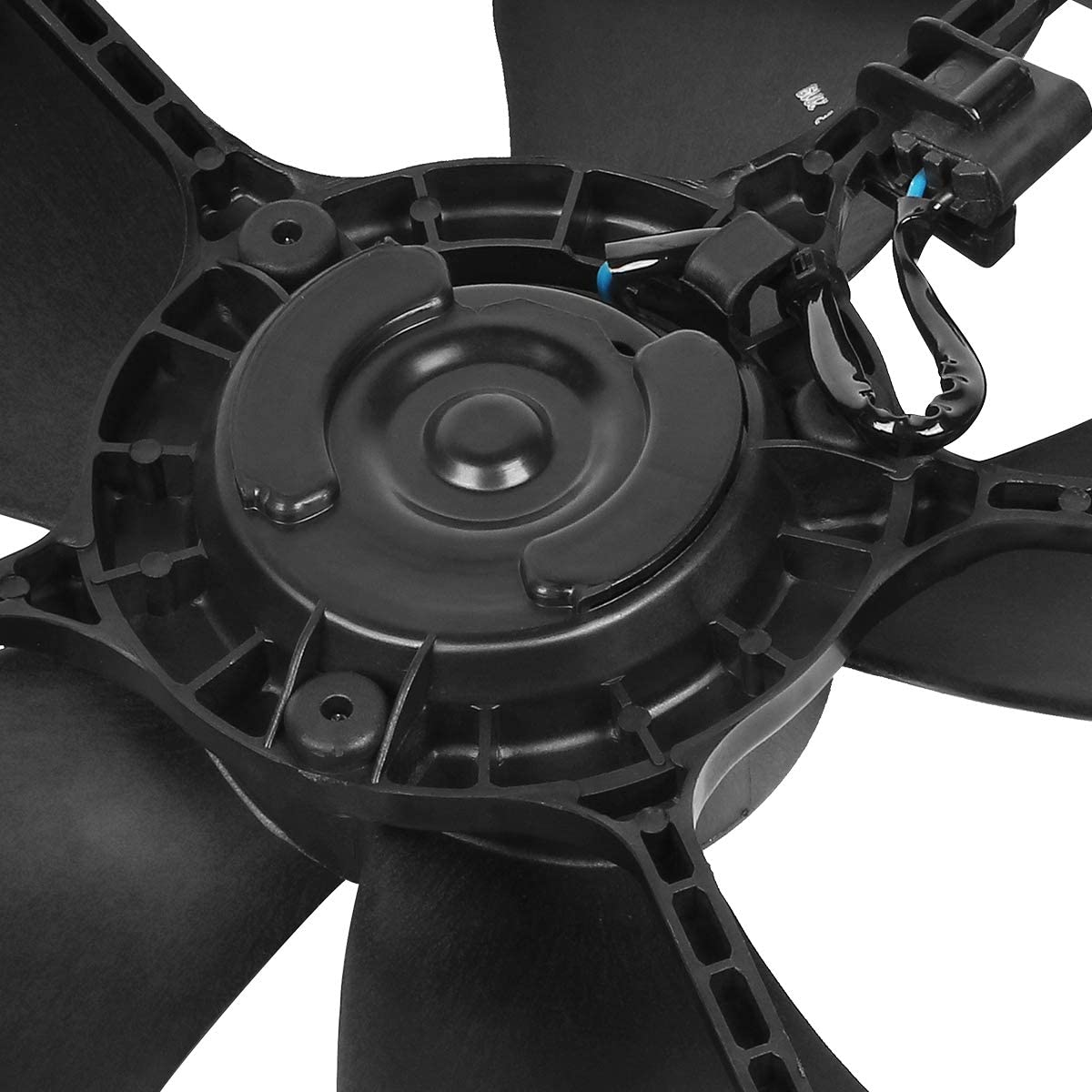 GM3115200 OE Style Radiator Cooling Fan Assembly Replacement for Chevy HHR 2.2L 2.4L 06-11