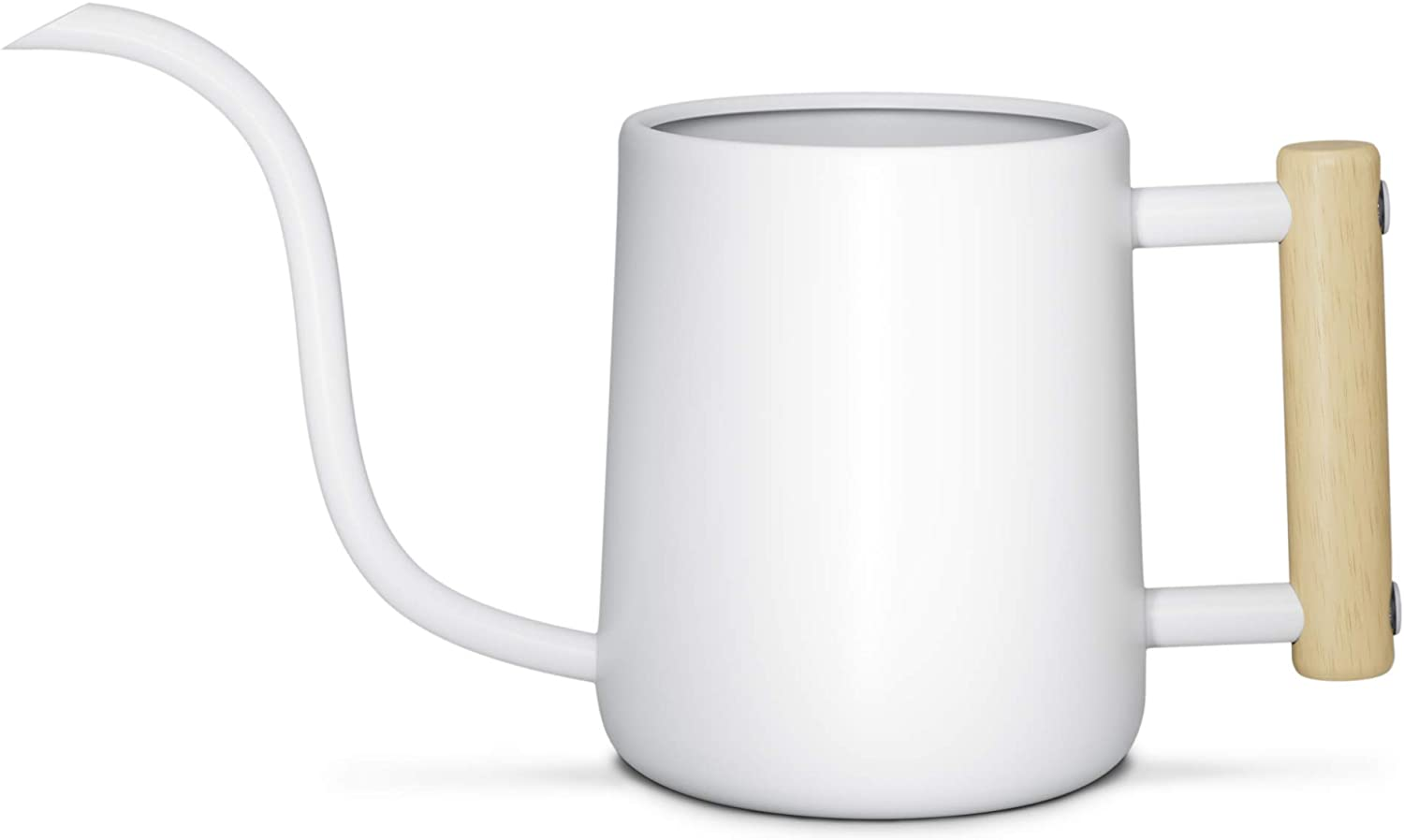 Indoor Watering Can with Long Spout - 35oz White Watering Can for Indoor Plants - Cute Watering Can Indoor - Small Watering Can for Indoor Plants - Indoor Plant Watering Can - Houseplant Watering Can