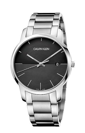 492182899acc [カルバンクライン]CALVIN KLEIN 腕時計 3針 City Extension(シティ エクステンション) シルバー