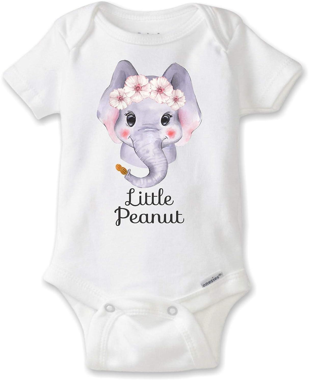 3567fa8f81f0 Little peanut elephant onesie bodysuit baby girl clothing jpg 1217x1500 Little  peanut elephant vinyl boy onesies