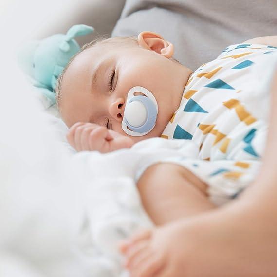 Chupete de silicona NUK Genius, para recién nacidos ...