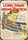 "7"" x 10"" METAL SIGN - 1953 Lionel Trains - Vintage Look Reproduction"