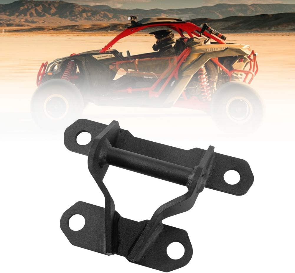 UTV Rear Tow Hook A/&UTV PRO Rear Pull Plate Tow Recovery Hook Compatible with Can am Maverick X3 Replace OEM #715004450