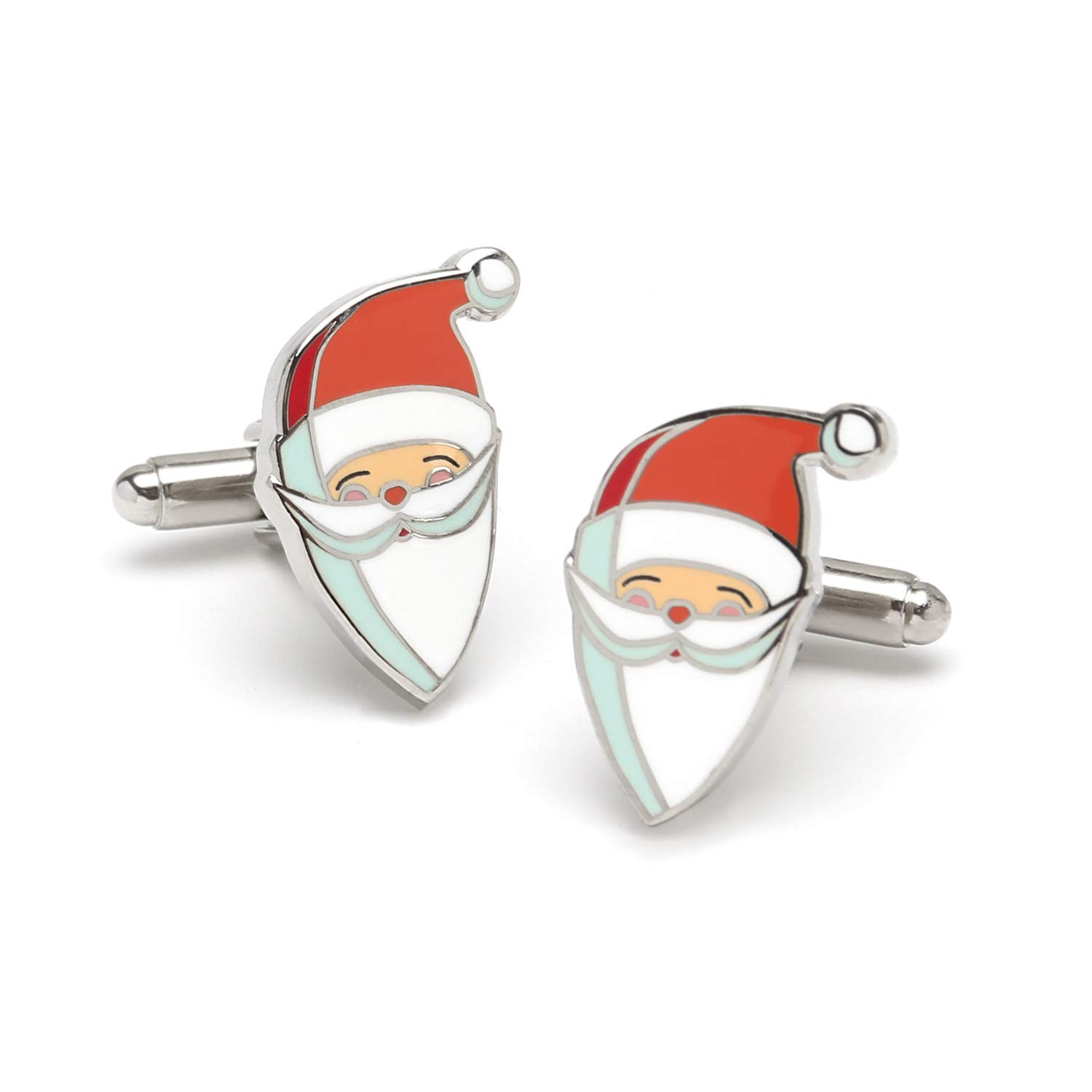 first-class quality Men's Santa Cufflinks With Bullet Backing ...