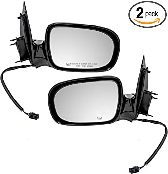 Amazon Com Aftermarket Replacement Pair Power Side Mirrors Heated Compatible With Uplander Trans Sport Relay Montana Sv6 Venture Silhouette Van Automotive