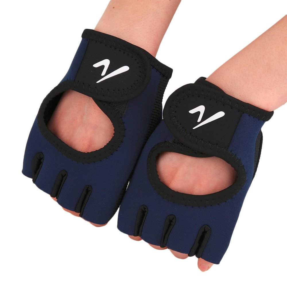 Comfortable Outdoor Winter Sport Riding Cycling Racing Gloves Half Finger Breathable