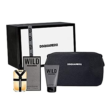 Amazon.com: Estuche Dsquared He Wild Edt 50 ml + Regalo ...