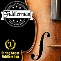 Fiddlerman Violin String Set, Synthetic Core w/ Ball-End for both 4/4 and 3/4 size