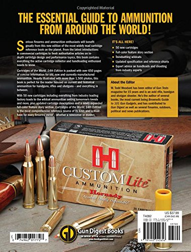 Cartridges of the world a complete and illustrated reference for cartridges of the world a complete and illustrated reference for over 1500 cartridges amazon w todd woodard fremdsprachige bcher fandeluxe