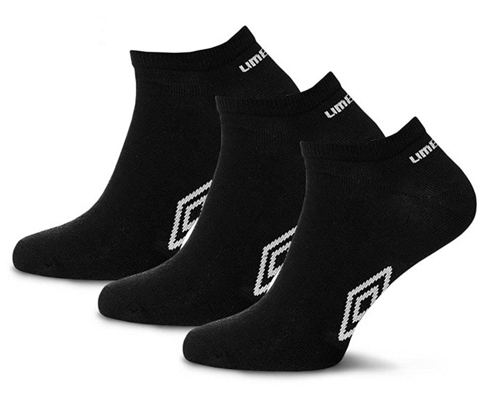 Jogging und Freizeit I Atmungsaktiv Gr/ö/ße: 39-46 6er Ideal f/ür Sport UMBRO Sneaker Socken Schwarz Sportsocken 9er Pack