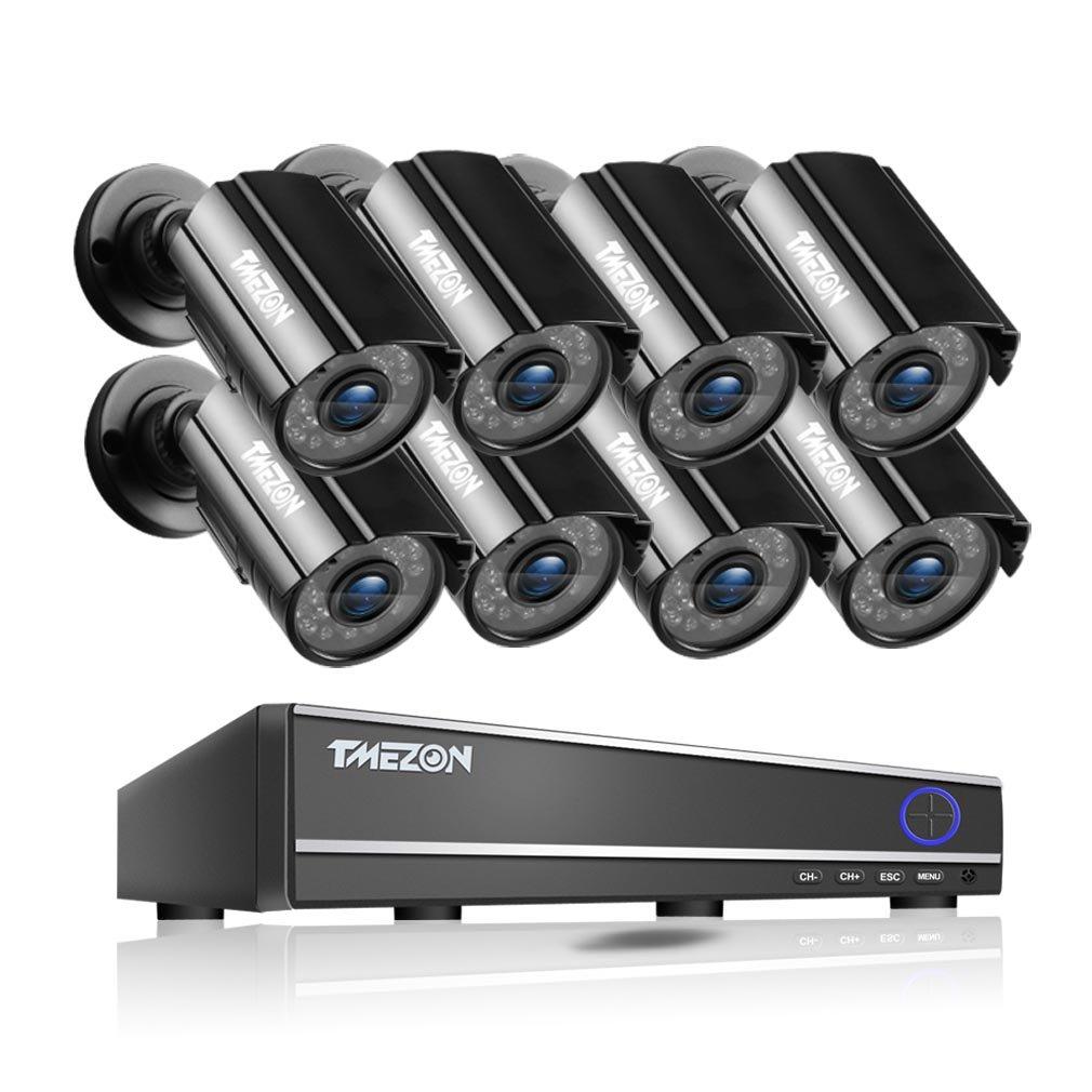 品質検査済 TMEZON 16チャンネルHDMI DVR Cam CCTVキットセキュリティカメラシステムW/ 8アウトドアBullet + + 8インドアドーム800tvl hi-resolutionビデオ監視カメラ TMEZON 16CH DVR Kits w/8 Cam NO HDD-B Black Cameras B00V4LQC42, みづの屋:6ae8c320 --- a0267596.xsph.ru