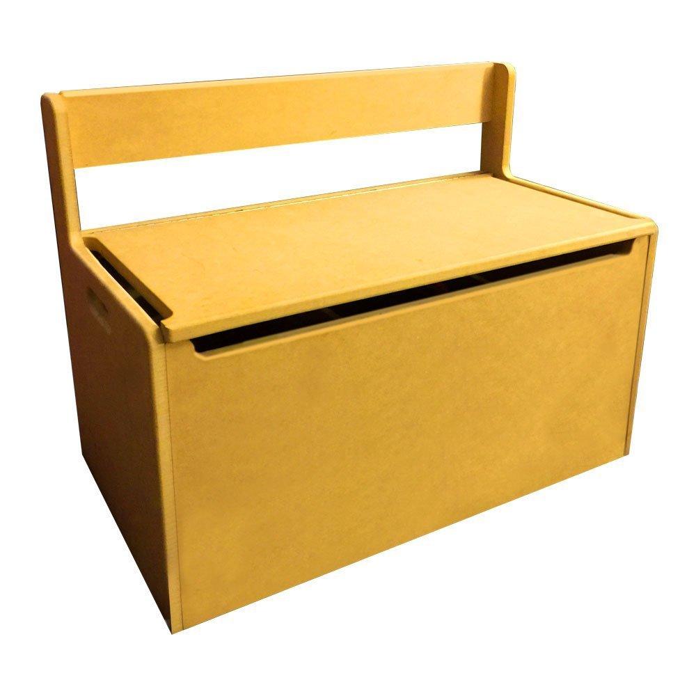 Wondrous Amazon Com Personalized Toy Storage Box Bench Seat With Machost Co Dining Chair Design Ideas Machostcouk