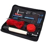 Piano Tuning Outils et équipement,Lovebay Kit d'accordage professionnel 10pièces pour piano comprenant marteau d'accordage, clé muette, et poignée de marteau