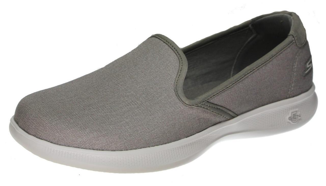 Skechers Go Step Lite Felicity Women's Flats, Grey Felicity, 6.5 US