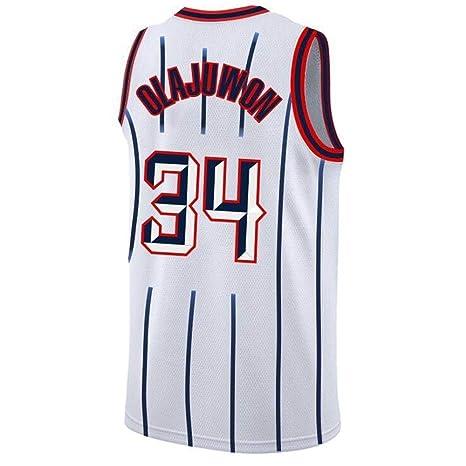 CCKWX NBA Houston Rockets # 34 Hakeem Olajuwon Baloncesto ...