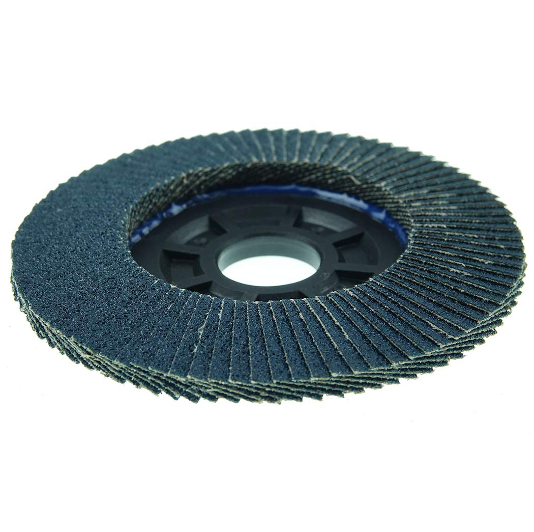 50003 60 Grit Type 29 Weiler Trimmable Tiger Abrasive Flap Disc Round Hole 4-1//2 Dia Composite Backing 4-1//2 Dia. Pack of 1 Zirconia Alumina