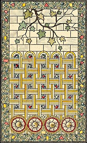 Belcher Mosaic Glass 1886 8 Poster Print by Alfred Pilgrim (24 x 36)
