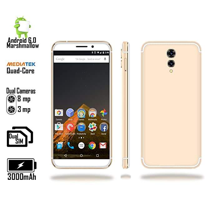 Indigi® gsm Desbloqueado 4 G LTE 5.6 en Android 6 Marshmallow ...