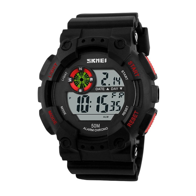 メンズファッションデジタル腕時計/防水時計/アウトドアスポーツユーティリティwatch-a B06XCLDYSX