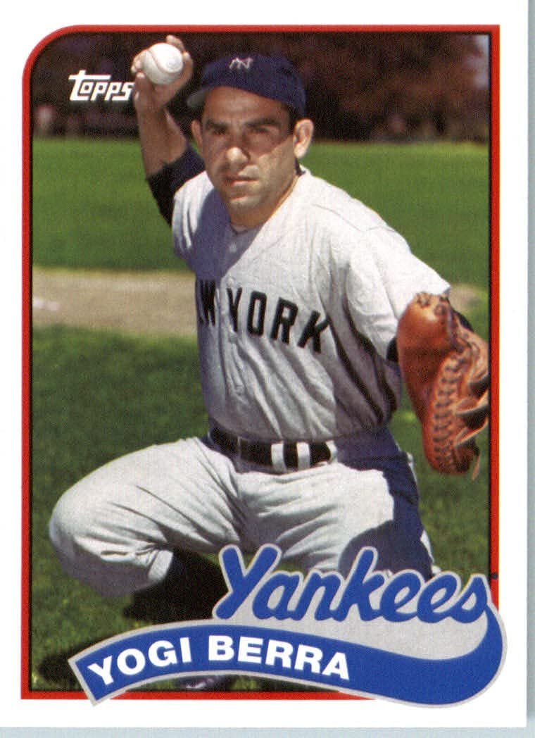 New York Yankees 2014 Topps Archives Baseball Card # 175 Yogi Berra