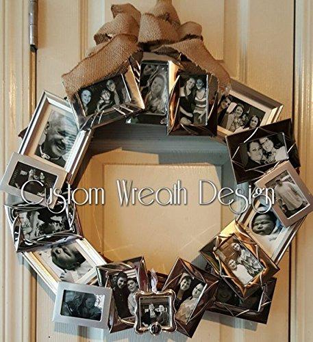 Amazon Photo Frame Wreath Photograph Wreath With Burlap Bow