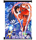 "Dragon Ball Z Anime Fabric Wall Scroll Poster (16""x21"") Inches"