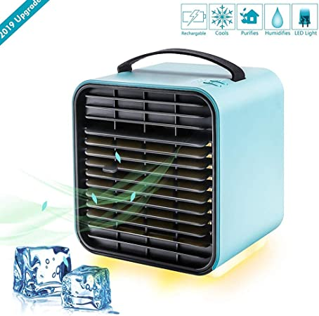 Mini Enfriador de Aire Acondicionado Portátil, Climatizador ...