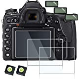 debous Screen Protector Compatible for Nikon D780 Digital Camera,Anti-Scratch Tempered Glass Clera Hard Protective Film Cover