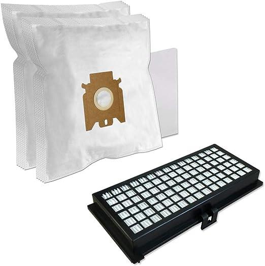 Set - Filtro HEPA + 10 Bolsas de aspiradora para Miele S 371, S371, S 381, S381 Tango, S524, S 524, S548 S 548: Amazon.es: Hogar