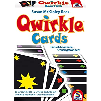 "Schmidt Spiele 75034 ""Qwirkle Cards Card Game: Toys & Games"