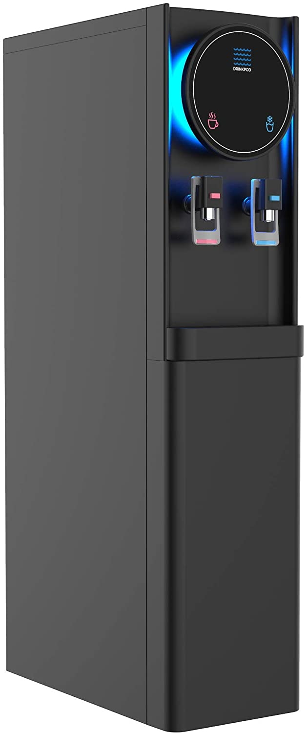 Bottleless Water Cooler Hot and Cold Water Dispenser For Offices & Homes (BLACK)
