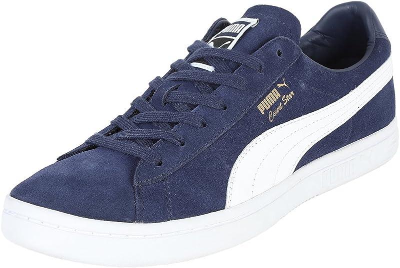 Puma Court Star FS Sneaker Damen Herren Unisex Blau (Peacoat)